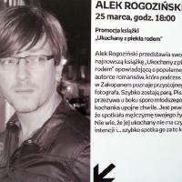 Alek Rogoziński w empik Arkadia_2