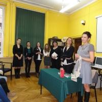 Spotkanie z uczniami w Bytomiu
